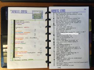 S'organiser avec le Bullet Journal ! @ Les Imaginations Fertiles